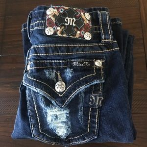 Women's Miss Me Jeans with Flap Pocket